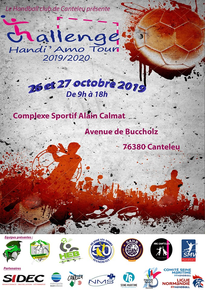 « Handi'Amo Tour » : six équipes de hand'fauteuil s'affrontent ce week-end à Canteleu