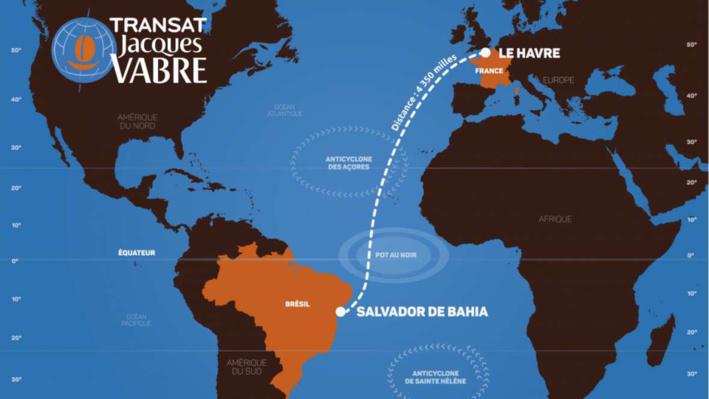 Transat Jacques Vabre au Havre : les 59 bateaux s'élancent à 13h15 ce dimanche