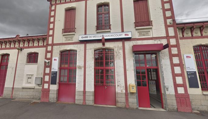 L'agression s'est déroulée à la gare de Meulan-Hardricourt - illustration