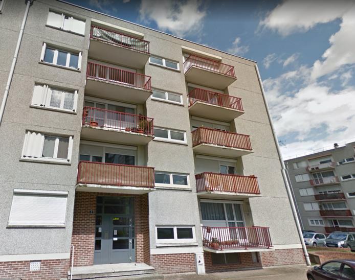 La caméra de type nomade était fixée sur le pignon de cet immeuble et filmait vers la rue Lesueur  - Illustration © Google Maps