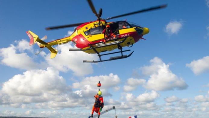 Les sapeurs-pompiers du Grimp et l'hélicoptère de la sécurité civile ont été engagés pour les recherches