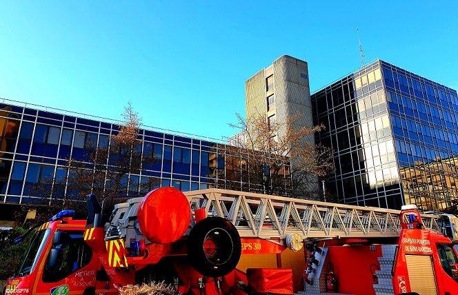 Les sapeurs-pompiers ont rapidement procédé à une levée de doute - photo @Ddsp76