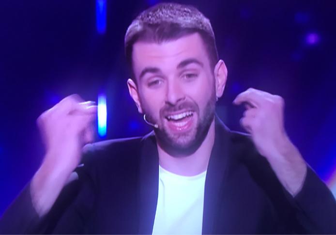 Valentin a été envoyé directement en finale par Éric Antoine - capture d'écran M6