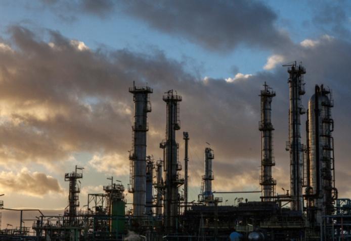 La raffinerie Total, à Gonfreville l'Orcher - Photo © Total