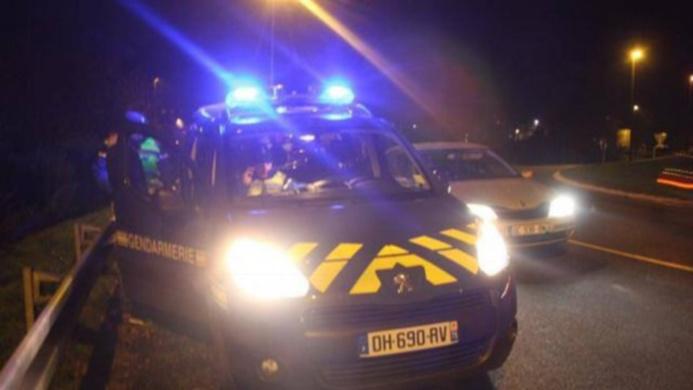 Les occupants de la voiture en fuite, bloquée dans une impasse, ont été interpellés à La Feuillie - illustration