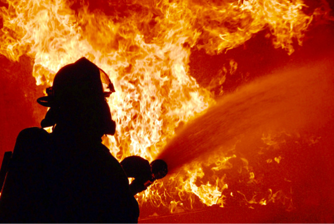 Les pompiers ont déployé sept lances à incendie, c'est dire l'ampleur du sinistre - illustration @ Pixabay