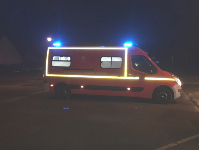 Les victimes ont été prises en charge par les sapeurs-pompiers et transportées vers l'hôpital d'Evreux - Illustration © infoNormandie