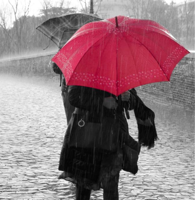 Fortes pluies et rafales de vent sont attendus ce jeudi 13 février dans l'Eure - illustration @ Pixabay