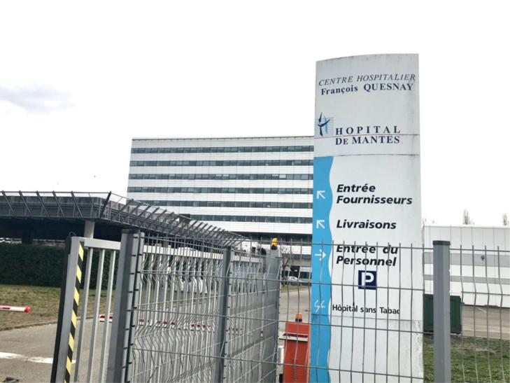 Hôpital de Mantes-la-Jolie - illustration @ infoNormandie