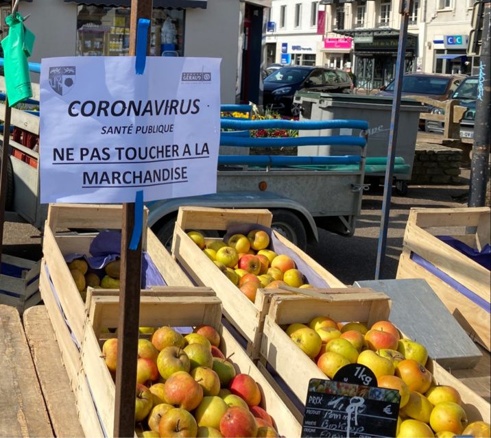 Les commerçants imposent eux-mêmes des règles de sécurité à leurs clients - photo @ infoNormandie