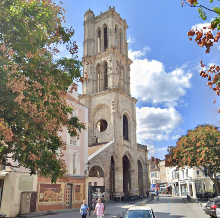 L'église de la place Saint-Maclou - illustration
