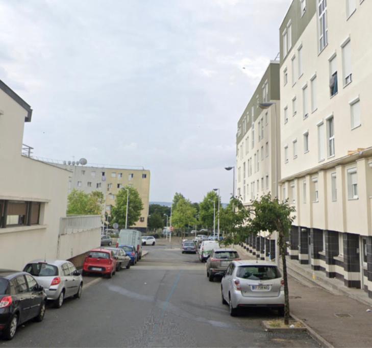 Le contrôle avait lieu rue de l'Écho, dans la cité La Noé - illustration