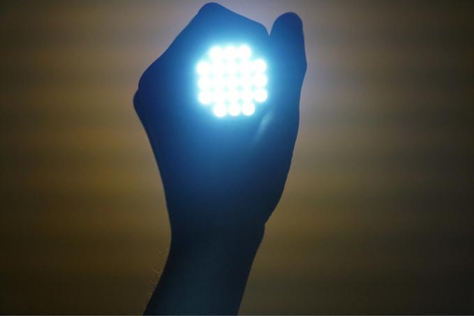 Les policiers ont repéré en arrivant les faisceaux lumineux de leur torche - Illustration @Pixabay