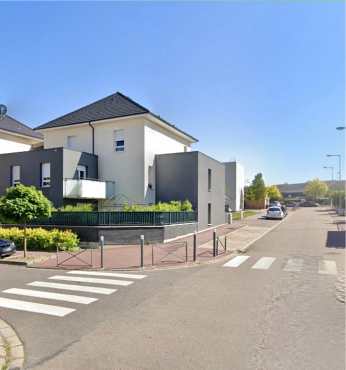 La victime et sa compagne passaient la soirée chez un couple d'amis rue Hector Malot à Saint-Etienne-du-Rouvray - Illustration © Google Maps