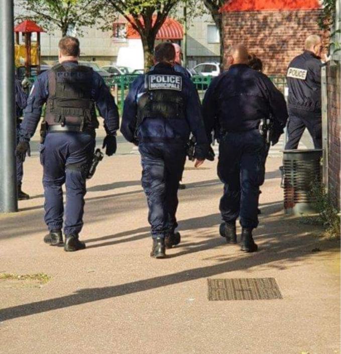 Les contrôles ont été renforcés ce week-end après les incidents de Pâques - illustration @ DDSP27/Facebook