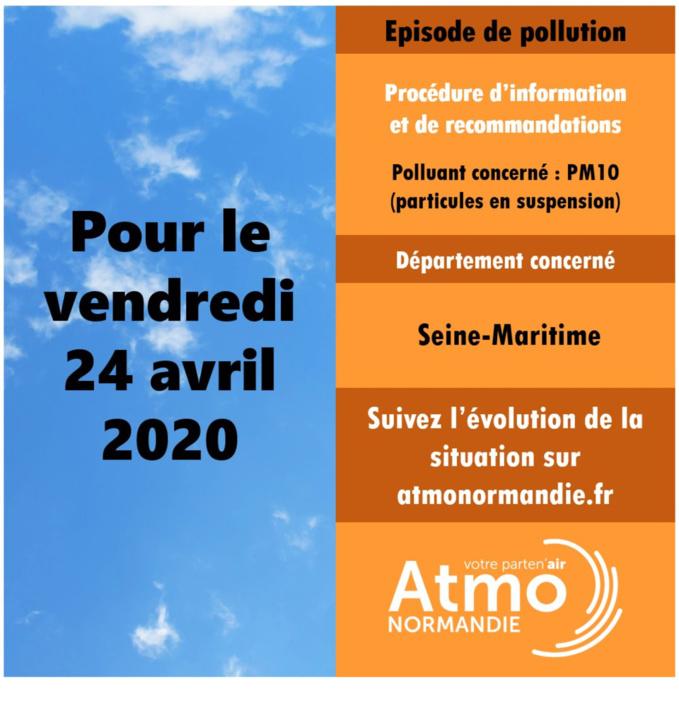 Pollution par les particules fines : la Seine-Maritime en alerte pour la journée de vendredi