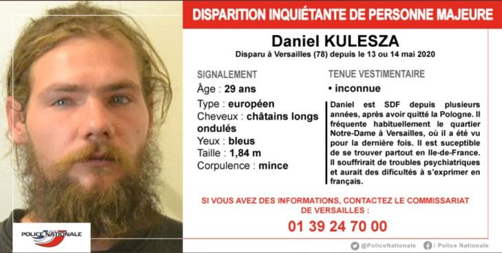 Disparition inquiétante d'un homme à Versailles : la police lance un appel à témoins