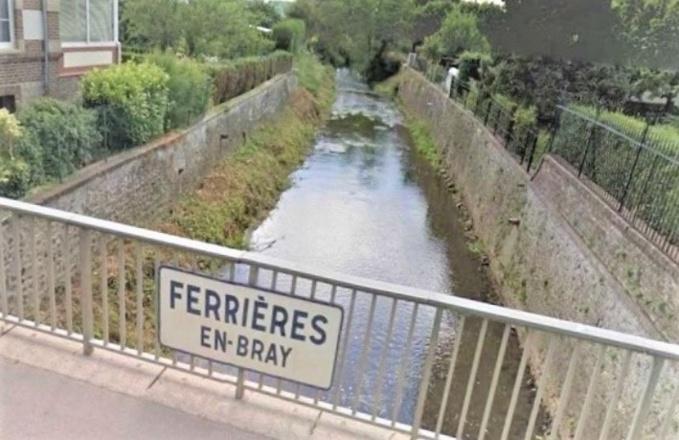 L'Epte traverse les communes de Gournay-en-Bray et de Ferrières-en-Bray