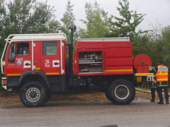 Une cinquantaine de sapeurs-pompiers ont été engagés - Photo @ C.L./InfoNormandie