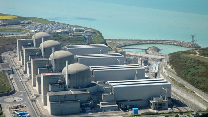 La centrale de Paluel compte quatre réacteurs