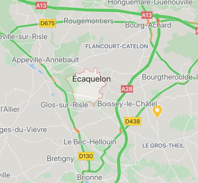 Accident mortel sur une route de l'Eure cette nuit : la voiture a percuté un poteau électrique