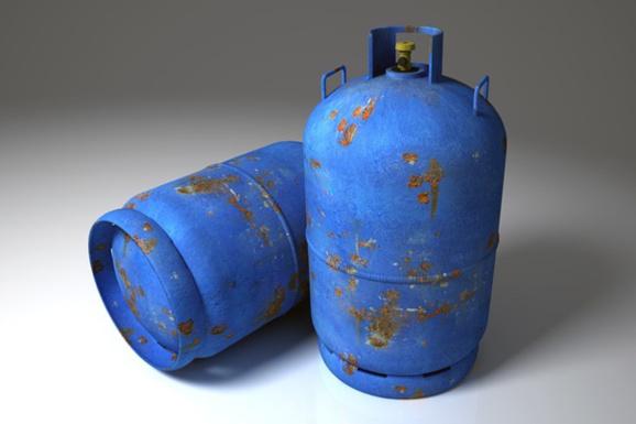 La bonbonne de 13  kg contenait du gaz propane - illustration @ Pixabay