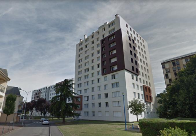 Le drame s'est produit dans cette cité de la rue de la Paix en milieu d'après-midi - Illustration © Google Maps