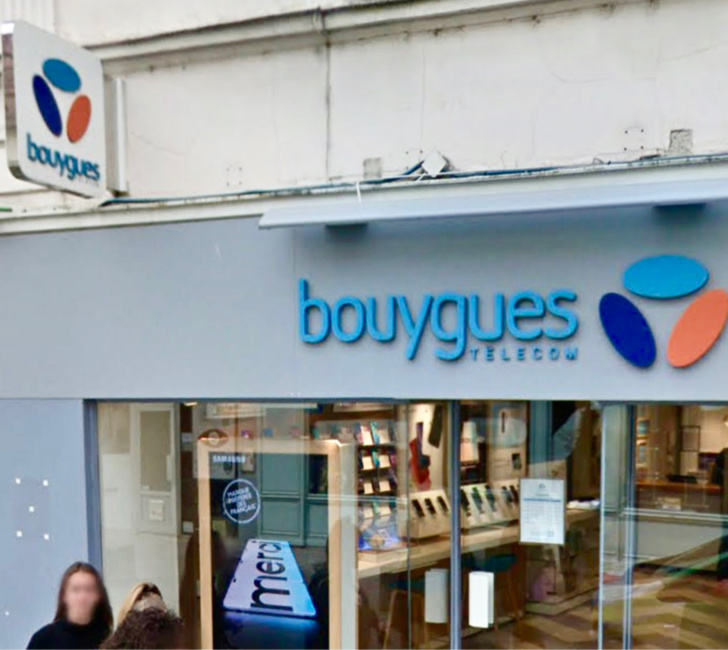 Le magasin visé est situé dans une rue commerçante - illustration @ Google Maps