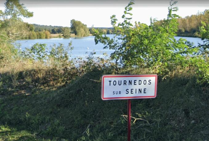 La mairie de Tournedos-sur-Seine rappelle que la baignade est strictement interdite dans ce bassin - Illustration @ GoogleMaps