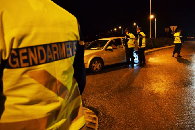 L'automobiliste ne s'attendait pas à rencontrer les gendarmes à cette heure-là... - illustration