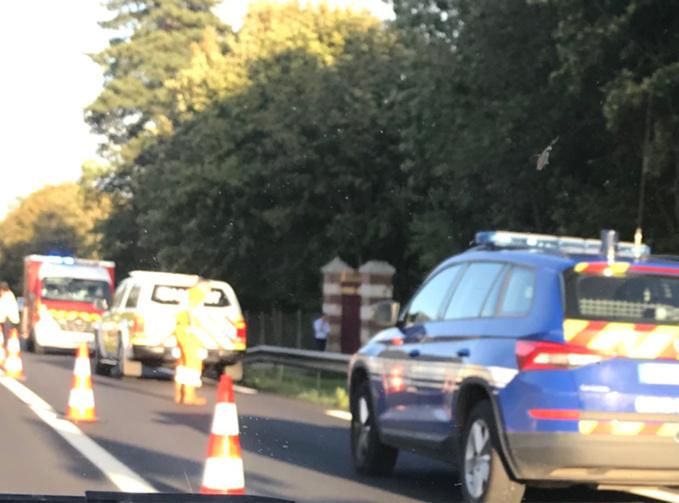 Dans les deux accidents, une voiture et une moto sont impliqués - Photo @ V.L