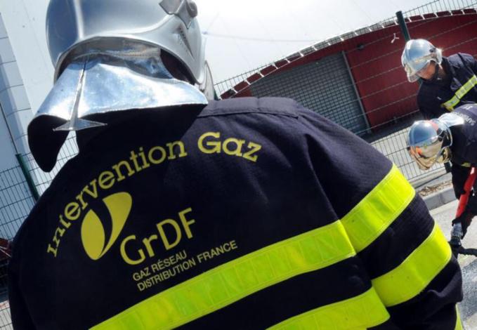 La fuite a été colmatée par les agents de GrDF - illustration
