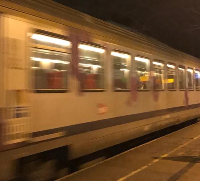 Les agresseurs ont été interpellés dans le train par des agents de la Suge - Illustration @ infoNormandie