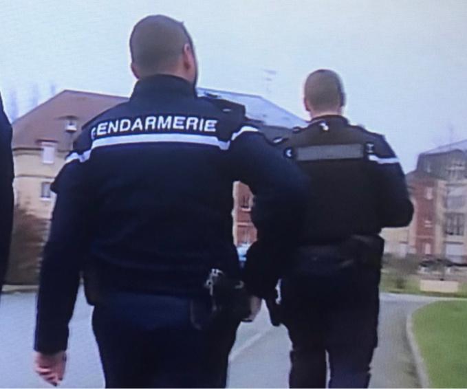 L'opération d'interpellation a mobilisé plusieurs unités de la compagnie de gendarmerie de Bernay - Illustration