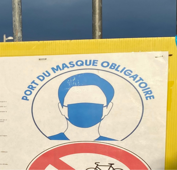 Le masque est obligatoire de 7 heures à 2 heures du matin dans les rues du Havre, à quelques exceptions près - Illustration @ infoNormandie