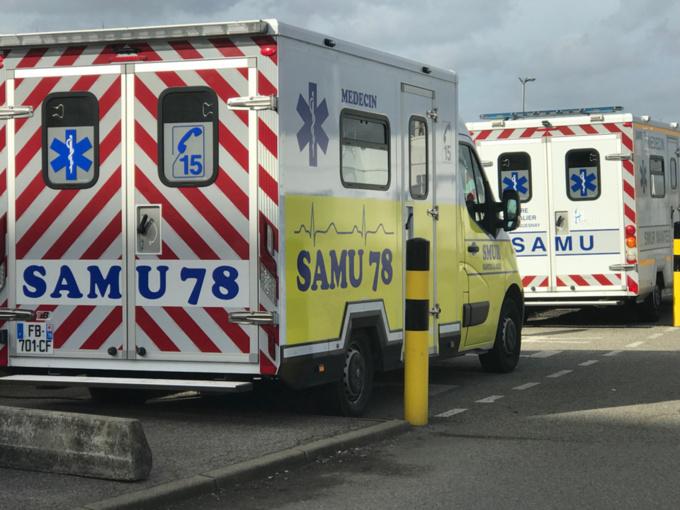 La victime a reçu les premiers soins d'urgence sur place par le SAMU avant d'être transportée vers l'hôpital - illustration @ infoNormandie