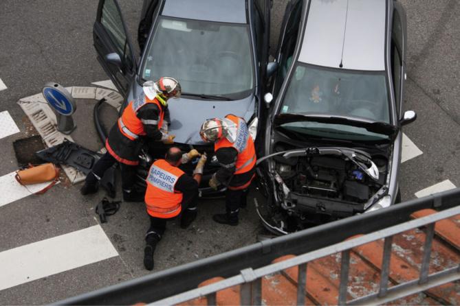 Trois véhicules ont été endommagés dans l'accident - illustration @ Pixabay