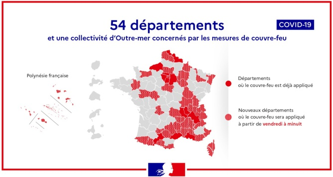 Covid-19. Après la Seine-Maritime, le Calvados placé sous couvre-feu dès vendredi à minuit