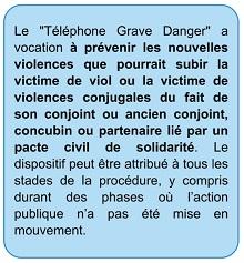 """Le Havre : son ex-conjoint la gifle et la bouscule, elle active son """"téléphone grave danger"""""""