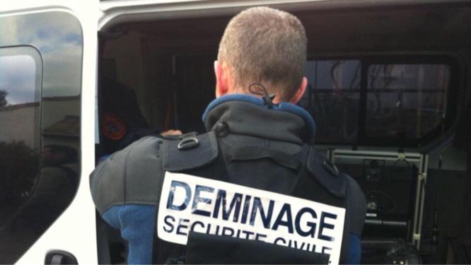 Les trois engins explosifs ont été pris en charge par les démineurs de la sécurité civile des Yvelines - Illustration