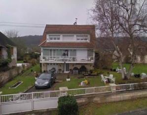 La maison où s'est déroulé le drame à Duclair