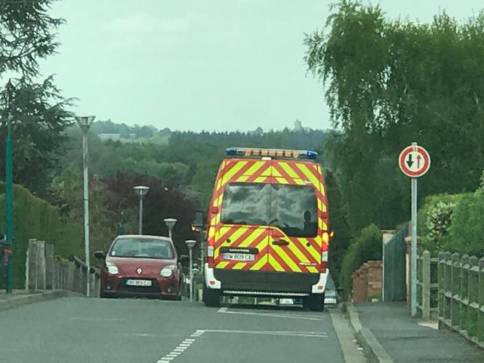 Quinze sapeurs-pompiers avec plusieurs ambulances ont été mobilisés sur le lieu de l'accident - illustration @ infoNormandie