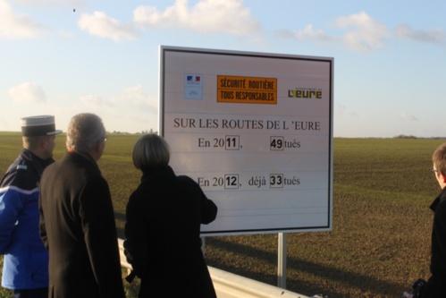 Sécurité routière : seize morts en moins dans l'Eure depuis le début de l'année