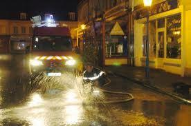 Inondations en Seine-Maritime : des maisons menacées par le débordement de deux bassins de rétention