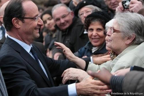 Les images et vidéos de la visite de François Hollande dans l'Eure