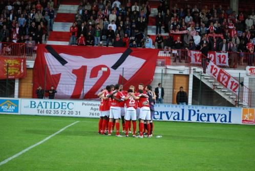 Les stadiers ont veillé à la sécurité des joueurs et des supporters (photo d'illustration FCR)