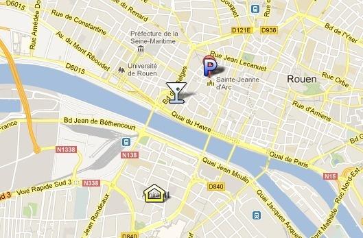 Emmanuel a garé sa voiture place du Vieux Marché, avant d'aller dîner avec ses amis et passer le reste de la soirée au Bar'Ouf, rue de Fontenelle. Il avait quitté son appartement  sur la rive gauche en début de soirée.