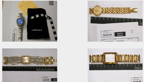 Des montres, des pièces de collection et des bijoux en or de toutes sortes ont été retrouvés. Les gendarmes recherchent maintenant leurs propriétaires