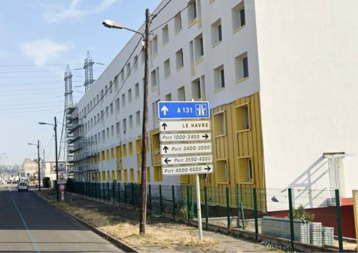 Le foyer Adoma, boulevard de Graville au Havre - illustration
