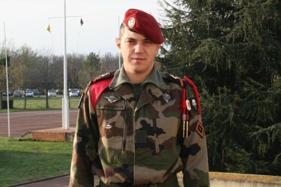 La caporal Cédric Charenton, tué au combat samedi au Mali